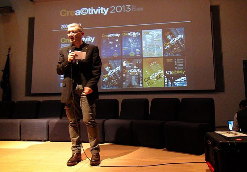 Max Pinucci curatore di Creactivity